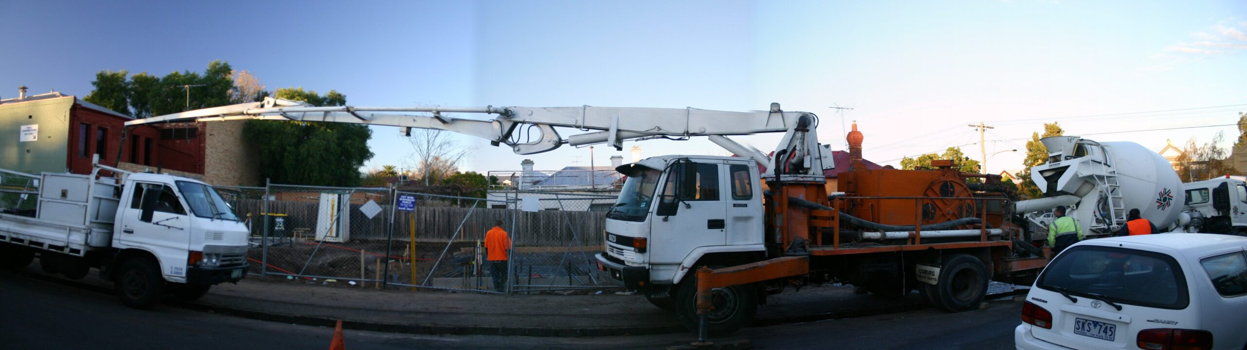 Benefits of Using Concrete Pump Hire in Construction Works