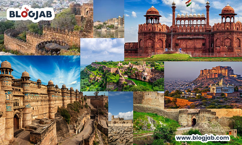 Top 10 Famous Forts in India