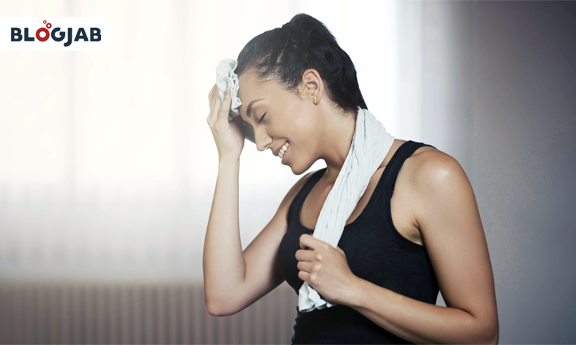 Sweating: The Best Natural Solution For Glowing Skin