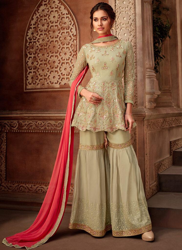Sharara Salwar Suit