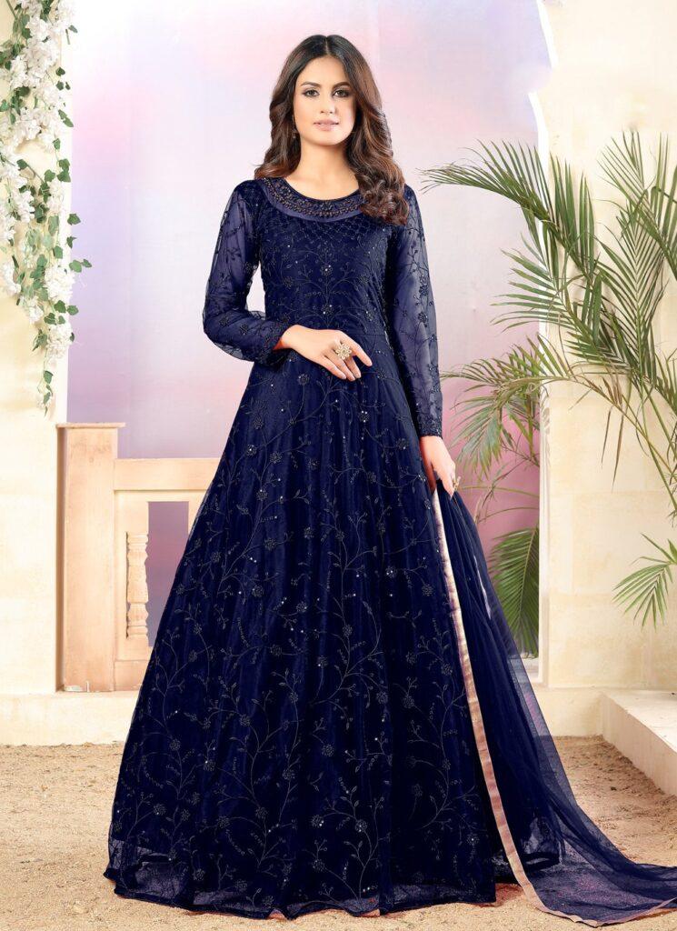 Floor Length Salwar Suits